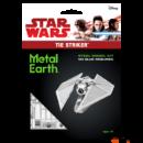 Metal Earth Zsivány egyes Tie Striker űrrepülő - lézervágott acél makettező szett