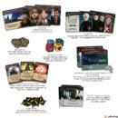 Harry Potter: Roxforti csata társasjáték - komponensek