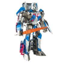 Metal Earth ICONX Optimus Prime - nagyméretű lézervágott acél makettező szett
