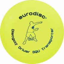 Eurodisc Discgolf Driver Transporter Bio golf frizbi sárga