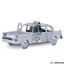 Metal Earth Checker Cab taxi