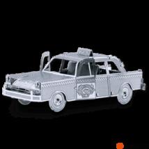 Metal Earth Checker Cab taxi