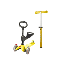 Mini Micro 3in1 Deluxe roller, sárga