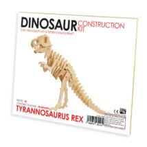 T-Rex Professor Puzzle fa építő szett standard