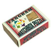 Tangram Matchbox Professor Puzzle ördöglakat