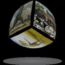 V-Cube 2x2 versenykocka lekerekített Dinoszaurusz
