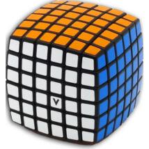 V-Cube 6x6 versenykocka lekerekített fekete