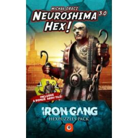 Neuroshima Hex 3.0 – Iron Gang Hexpuzzles pack angol nyelvű kiegészítő