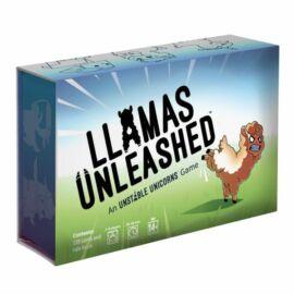 Llamas Unleashed angol nyelvű társasjáték