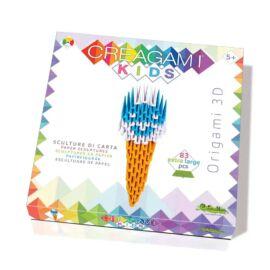 Creagami Kids-3D origami készlet, Fagyi