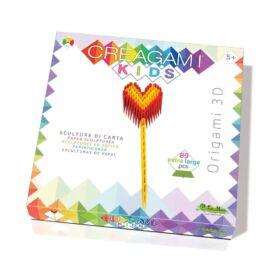 Creagami Kids-3D origami készlet, Szív