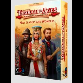 Through the Ages: New Leaders and Wonders kiegészítő, angol