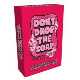 Don't drop the soap társasjáték doboz borító
