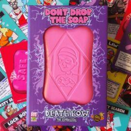Don't drop the soap: Death row társasjáték kiegészítő doboz borító