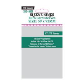 Sleeve Kings Euro kártyavédő (110 db-os csomag) 59 x 92 mm