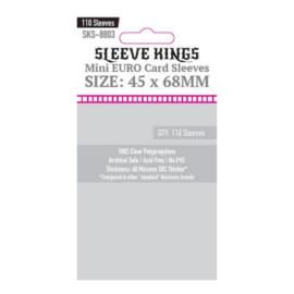 Sleeve Kings mini Euro kártyavédő (110 db-os csomag) 45 x 68 mm
