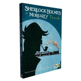 Képregényes kalandok: Sherlock & Moriarty - Társak képregény borítója