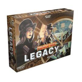 Pandemic Legacy Season 0 társasjáték borító