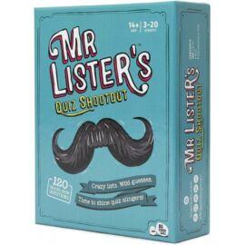 Mr Lister's Quiz Shootout angol nyelvű társasjáték