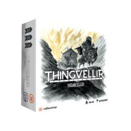 Nidavellir társasjáték Thingvellir kiegészítő borítója