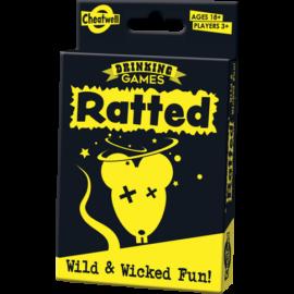 Cheatwell Ivós partyjátékok - RATTED kártyajáték, angol nyelvű