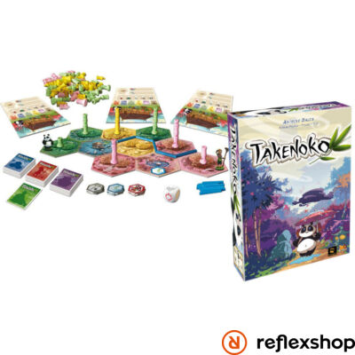 Takenoko angol nyelvű társasjáték