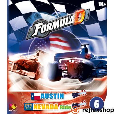 Formula D társasjáték: új pályák - Austin & Nevada kiegészítő
