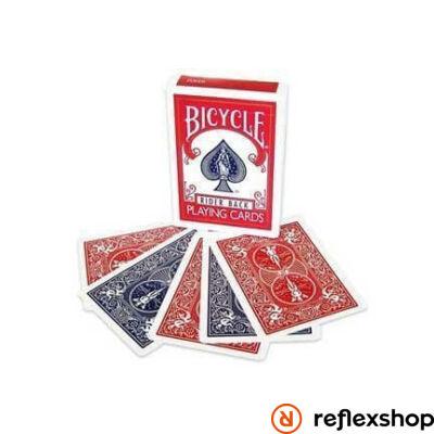 Bicycle Magic Double Back Piros/Kék kártya