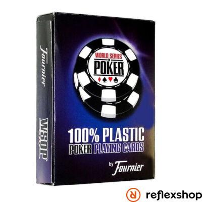 WSOP plasztik póker kártya Jumbo Index