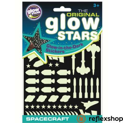 Brainstorm Glowstars Űrhajók foszforeszkáló matricaszett