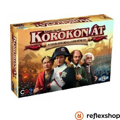 Czech Games - Korokon át: A civilizáció új története társasjáték