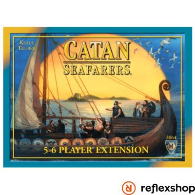 Catan Seafarers kiegészítő 5-6 főre, angol nyelvű