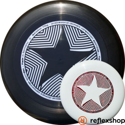 Eurodisc 175g Star 100% ORGANIC frizbi fekete