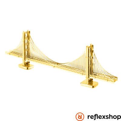 Metal Earth Golden Gate híd - aranyszínű