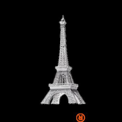 Metal Earth ICONX Eiffel torony