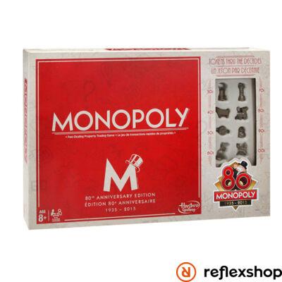 Monopoly társasjáték 80. Évfordulós kiadás