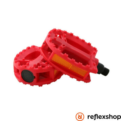 QU-AX Standard pedál piros