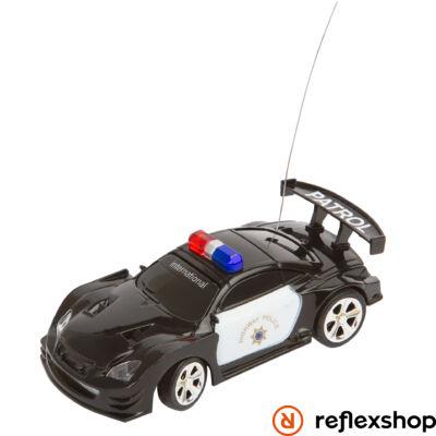 RC Police Mini Racer Black & White távirányítós versenyautó