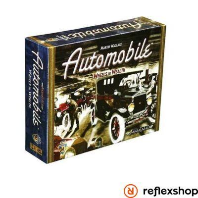 Automobile társasjáték, angol nyelvű