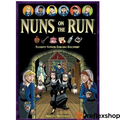 Nuns on the Run társasjáték, angol nyelvű