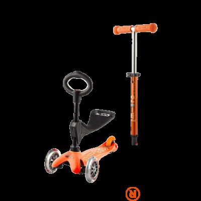 Mini Micro 3in1 Deluxe roller, narancssárga