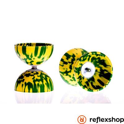Play Rainbow Diabolo 105mm 260gr sárga-zöld
