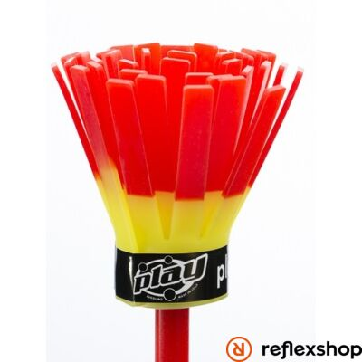 Play Power virágbot üvegszál szilikon borítás sárga-piros