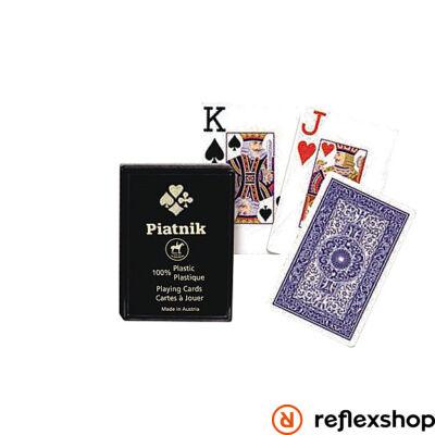 Piatnik plasztik römi kártya 2*55 lap 4 indexes műanyag dobozos