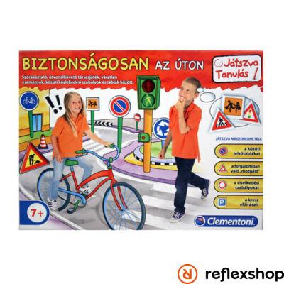 Clementoni Biztonságosan az úton társasjáték