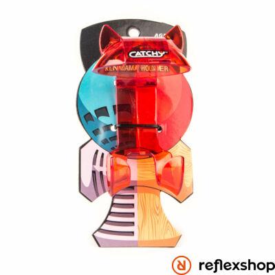 YoYoFactory Catchy Belt Clip áttetsző piros
