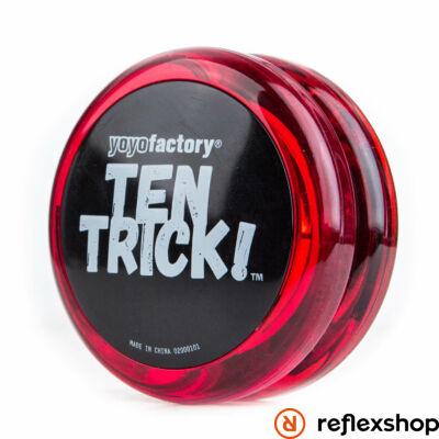 YoYoFactory Ten Trick yo-yo piros/fekete
