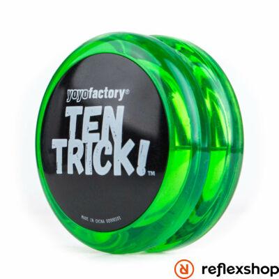 YoYoFactory Ten Trick yo-yo zöld/fekete