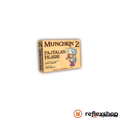Munchkin 2 társasjáték- Fajtalan Fejsze