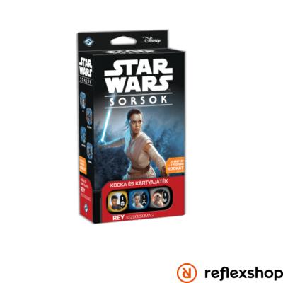 Star Wars Sorsok: Rey kezdőcsomag társasjáték